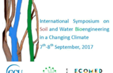 International Symposium on Soil- and Water- Bioengineering in a Changing Climate