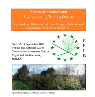 Stream Restoration and Bioengineering Training Course